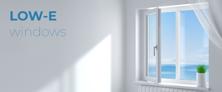 What is a Low-E window and what makes it energy efficient?